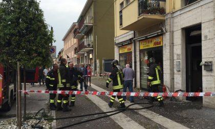 Villafranca - Incendio domato dal sindaco Faccioli