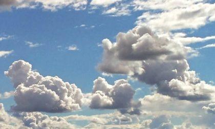 Villafranca e dintorni, nuvole nel fine settimana