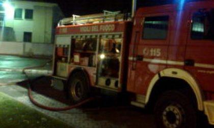 Lamacart in fiamme, Vigili del Fuoco in azione