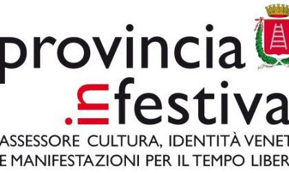 Torna il grande cartellone di Provincia in festival