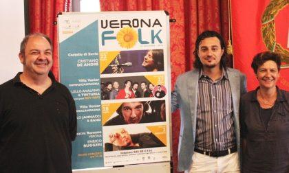 Verona Folk, quattro serate di grande musica