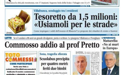 VillafrancaWeek, la prima pagina di sabato 4 giugno