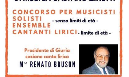 Solisti, ensemble, sezione canto lirico: al via il concorso internazionale
