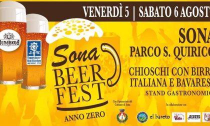 """Conto alla rovescia per """"Sona Beer Fest Anno Zero"""""""
