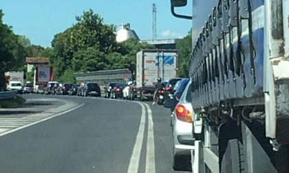 Incidente in A4, code chilometriche a Sommacampagna e Sona