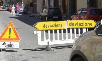 Lavori a Casaleone per la realizzazione di un attraversamento pedonale