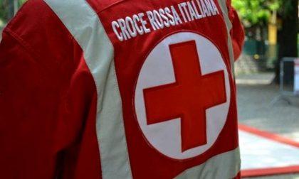 Prima l'alluvione, poi l'incidente; Croce Rossa in difficoltà
