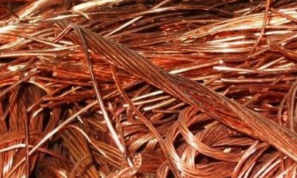 Trovato con 460 kg di rame: denunciato un 40enne bulgaro