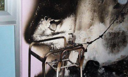 Istituto Anti, principio d'incendio doloso: è una bravata