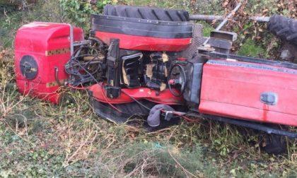 Sommacampagna: si ribalta con il trattore, morto sul colpo
