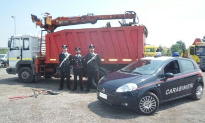 Rubano ferro a Mantova, arrestati due veronesi