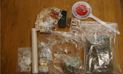 Supermercato della droga in casa, arrestato