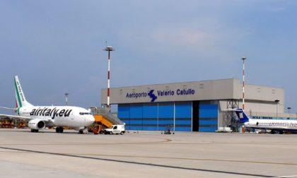 Aeroporto Catullo passeggeri sempre in crescita
