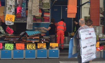 Malore al mercato, attimi di paura a Villafranca