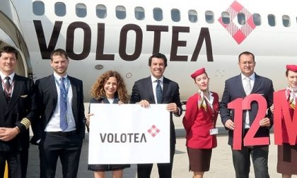 Volotea festeggia a Verona i 12 milioni di passeggeri