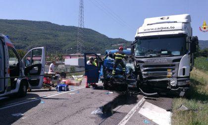 Incidente a Grezzana, due feriti gravi