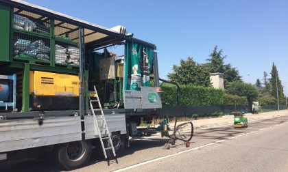 Manutenzione preventiva dell'asfalto a Villafranca
