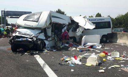 Maxi incidente in autostrada, più di dieci feriti