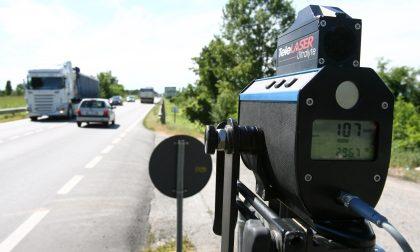 Polizia municipale, controlli velocità eccessiva