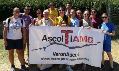 I giovani di Verona ad Ascoli ad un anno dal sisma