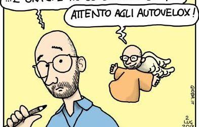 Don Berti, e la passione per social e vignette