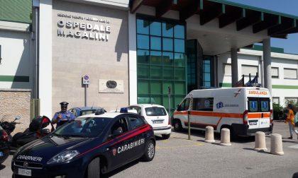 Villafranca, ruba in ospedale e aggredisce il vigilante