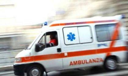 Incidente in moto, due feriti