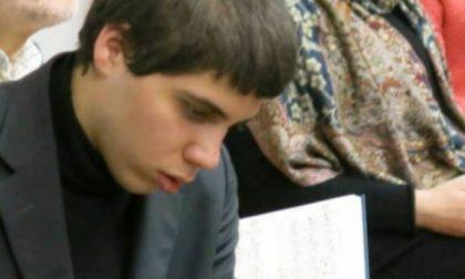 Matteo, musicista di Dio che ama la fisarmonica