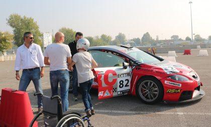 Rally Due Valli, che esperienza per 40 ragazzi disabili