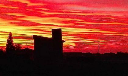 Stasera il tramonto ha stregato l'Italia