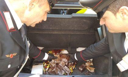 Villafranca: sequestrati 10 chili di droga