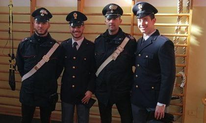 Castelnuovo, rubavano nella palestra dei poliziotti: presi