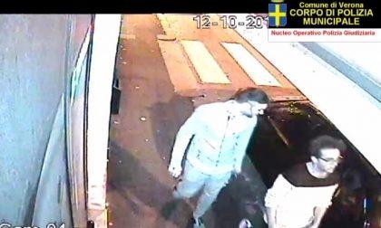 Verona, la Municipale diffonde le immagini di due vandali