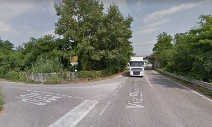 Incidente a catena, traffico in tilt in via Bussolengo