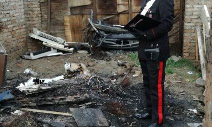 Pluripregiudicata bruciava plastica: arrestata