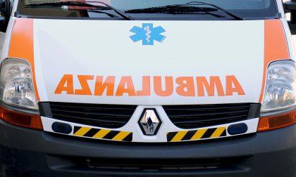 Ragazzo cade col motocross e finisce in ospedale