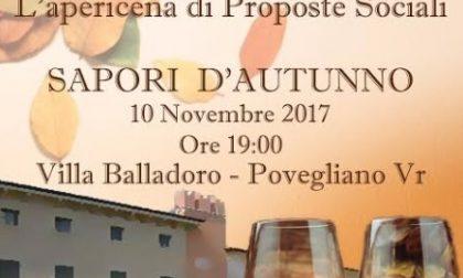 Villa Balladoro, serata all'insegna della solidarietà e dei sapori dell'autunno
