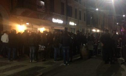 Villafranca: folla al bar Duomo per Nardi