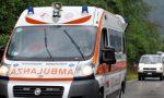 Incidente tra auto e moto in località Bassona
