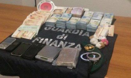 Arrestato spacciatore, aveva 140mila euro in contanti