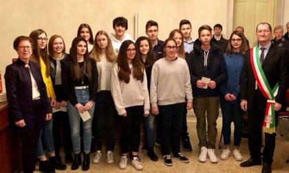 Castel d'Azzano, premiati 14 studenti eccellenti