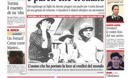 Ecco la prima pagina di VillafrancaWeek!