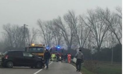 Incidente in via Malaspina, strada completamente bloccata