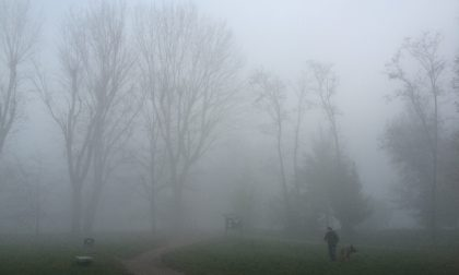 Nel weekend e a Natale prevista nebbia