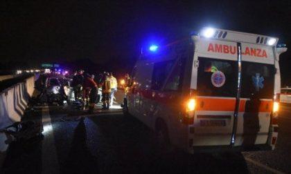 Terribile incidente in A4, nove feriti