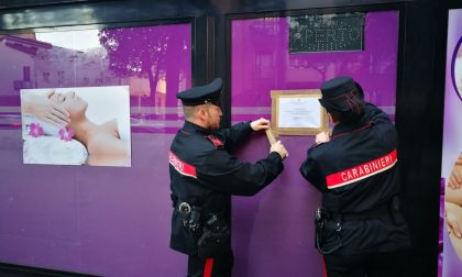 Centro massaggi a luci rosse, arrestate due cinesi