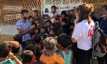 L'associazione veronese Medici per la Pace in Bangladesh per i rohingya