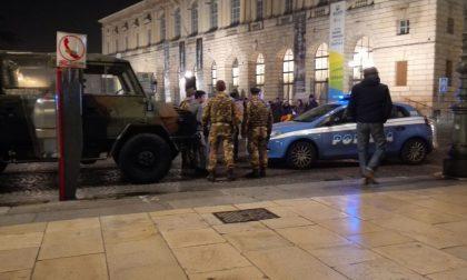 Rissa tra stranieri in piazza Bra