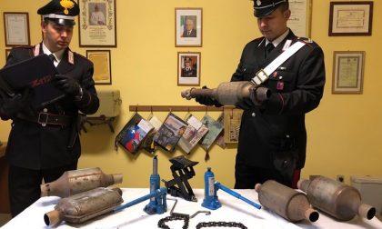 Arrestati due ladri seriali di catalizzatori