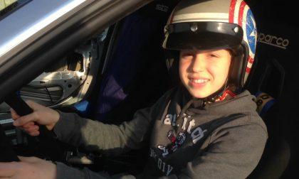 Daphne Bertaiola ha 12 anni e fa drifting